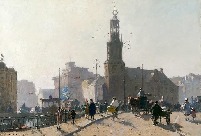 Cornelis Vreedenburgh 1880-1946, De Munt, Amsterdam, 1926.