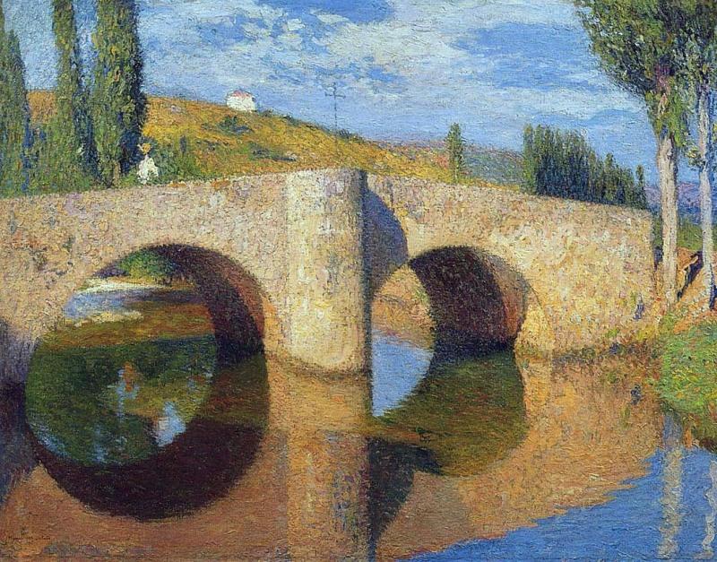 the-bridge-in-labastide-du-vert-1905