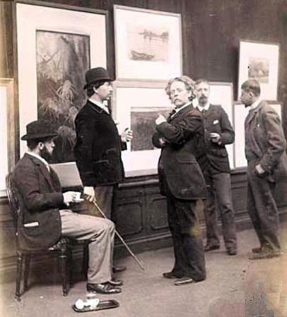 CvB Kunstzalen van Arti et Amicitia 1893