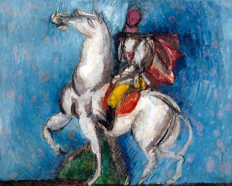 Le Cavalier arabe (Le Cavalier blanc), 1914
