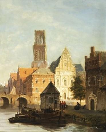 Kade in Gent