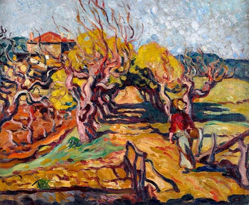 Louis Valtat - Paysage du Midi, 1902