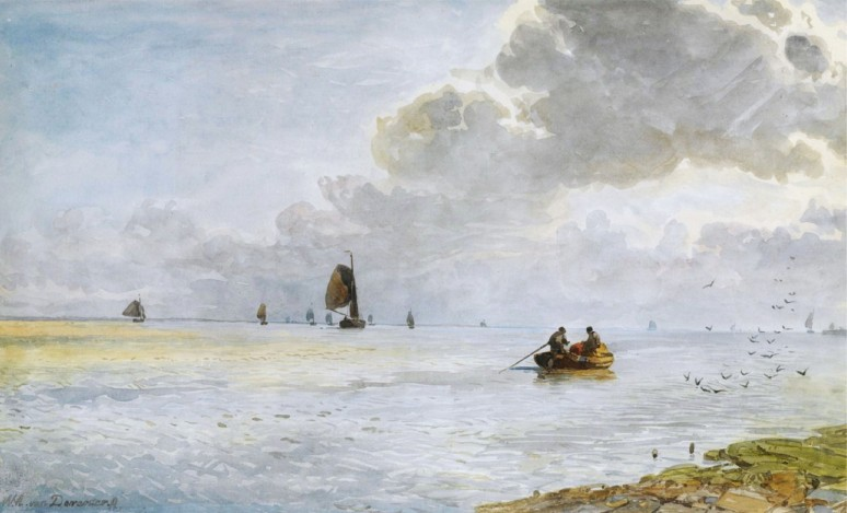 Shipping of the coast