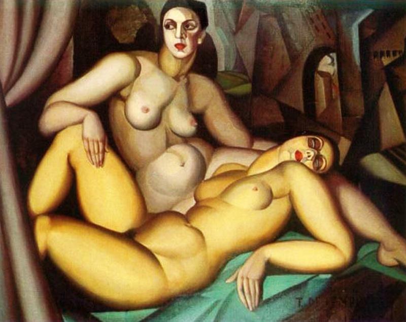 02 - 1923 - Twee vriendinnen Perspectief