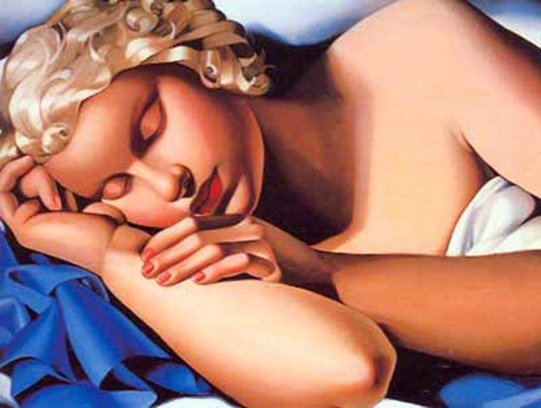 10 - Sleeping girl kizette