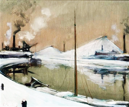 Pierre Paulus - L'hiver