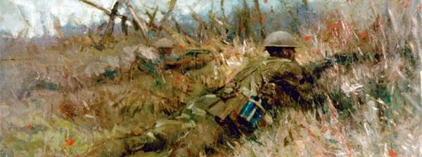 Alfred Bastien - Canadian snipers beaurain-en-artois