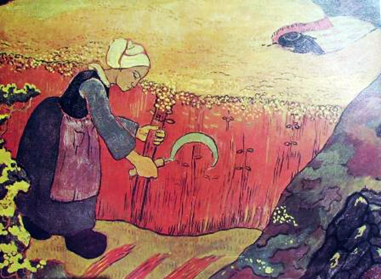 Georges Lacombe 3 - Oogst in Bretagne