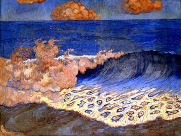 Georges Lacombe 4 - De blauwe zee