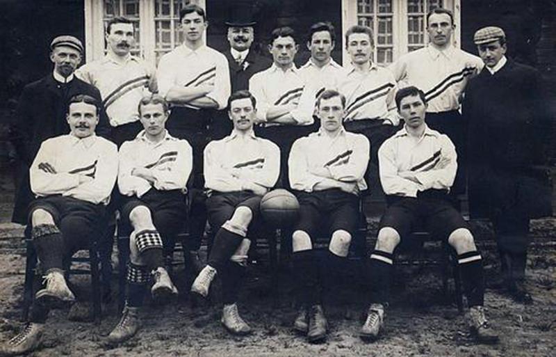 Nederlands_elftal, 1e interland 1905