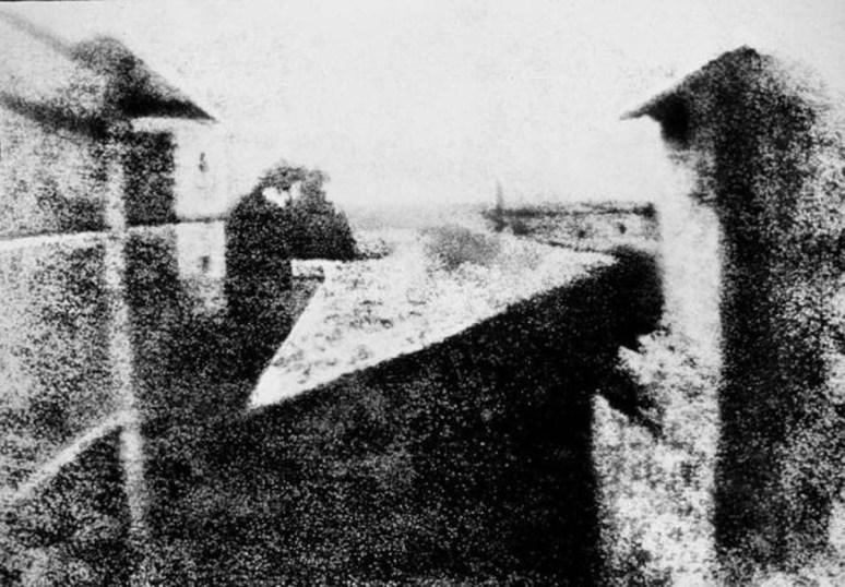 001 - eerste foto 1826 niepce