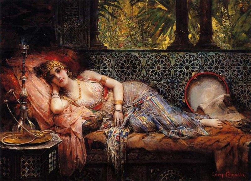 001 - Leon Francois Comerre French painter1850–1916