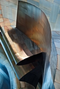 002 - abstract EMP Museum, Detail III by Andrew Prokos