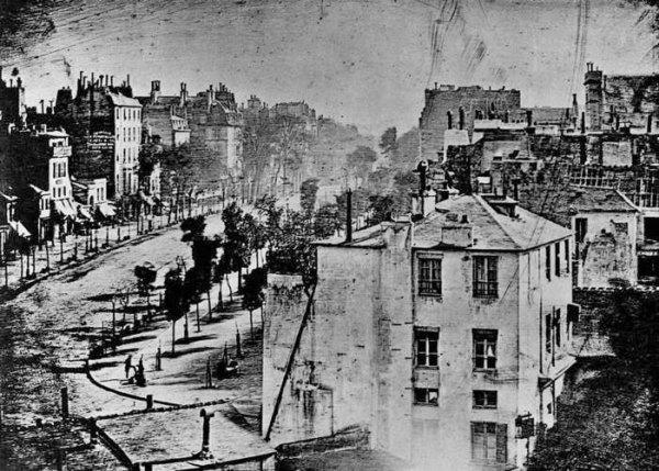 002 - Daguerre Boulevard du Temple 1839