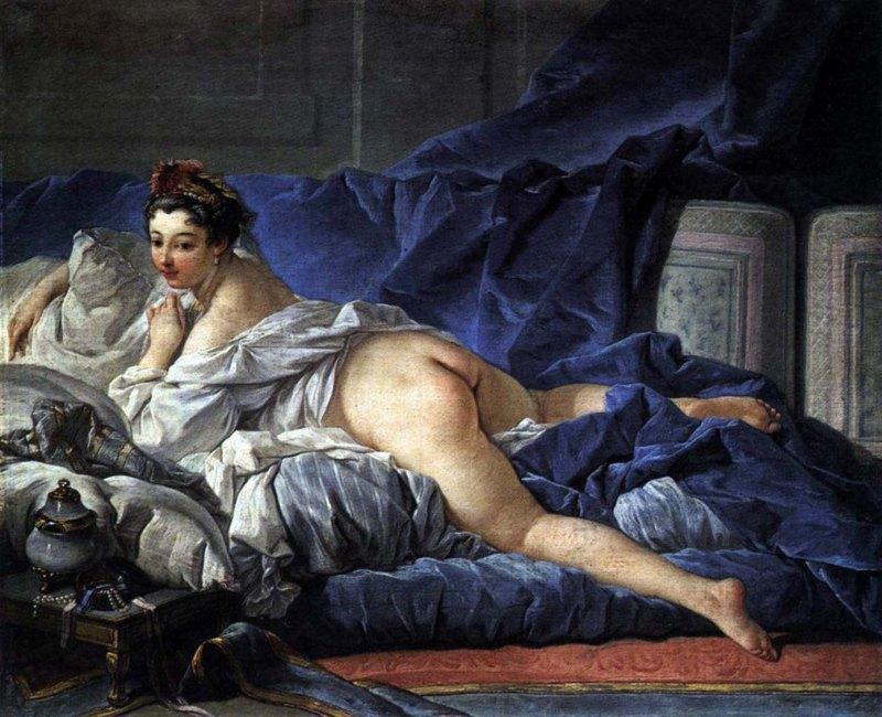 002 - Francois-Boucher - L'Odalisque Brune 1745