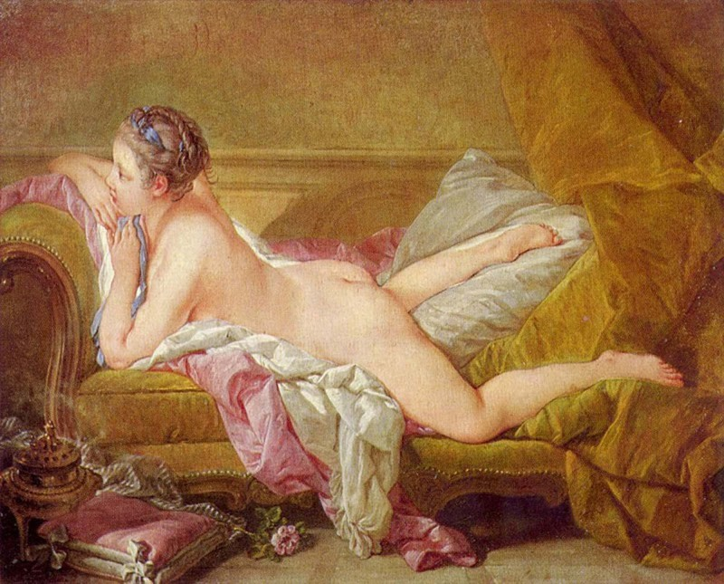 003 - Francois-Boucher - Blond Odalisque 1752