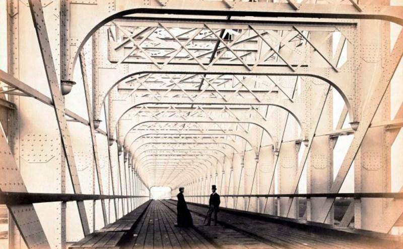 005 - Brug bij Culemborg 1868