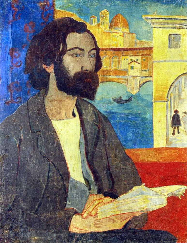 12 - 1893 - Serisier - Portrait of Emile Bernard at Florence-1893