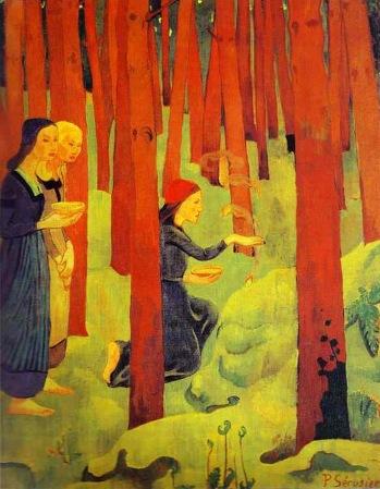 2 - 1891 - Serusier - Le foret sacré