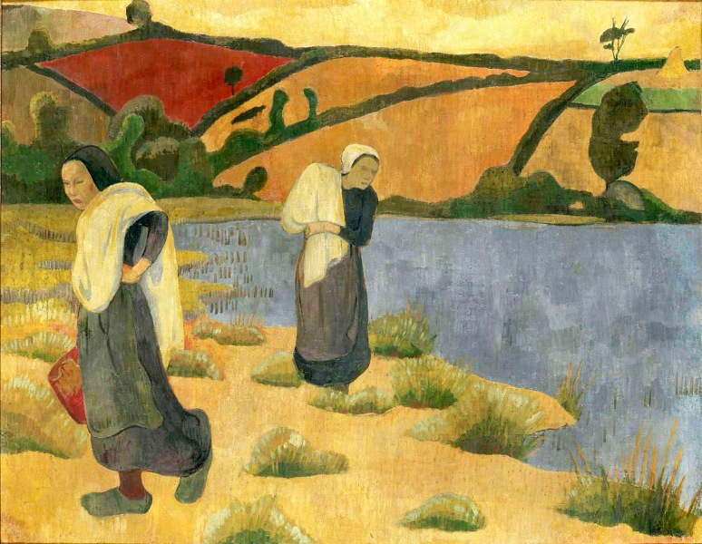 3 - 1892 - Serusier - The washers at Laita