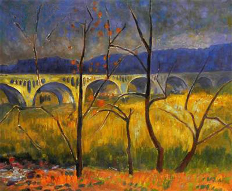 8 - 19-- - Serusier - Aquaduct