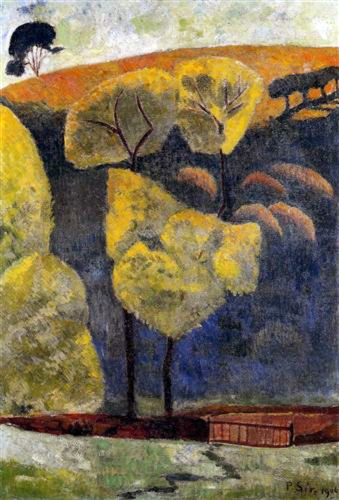 9 - 1906 - Serusier - La vallée blue