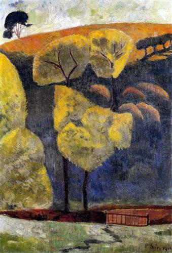 9 - 1906 - Serusier - La vallée blue