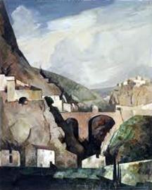 Iwan Cerf - Spaans landschap