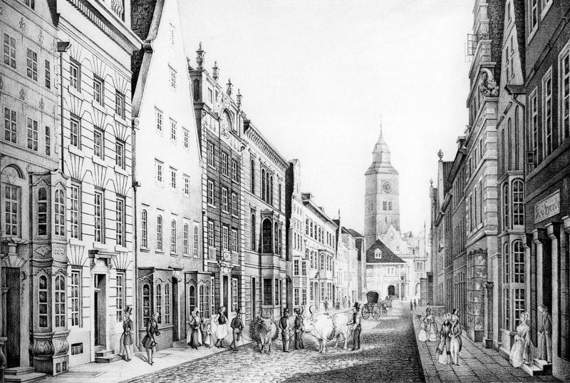 007 - Obernstraße Bremen 1844