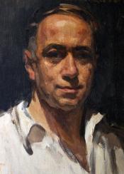 Autoportrait_fernand_Allard_l'Olivier_(1931)