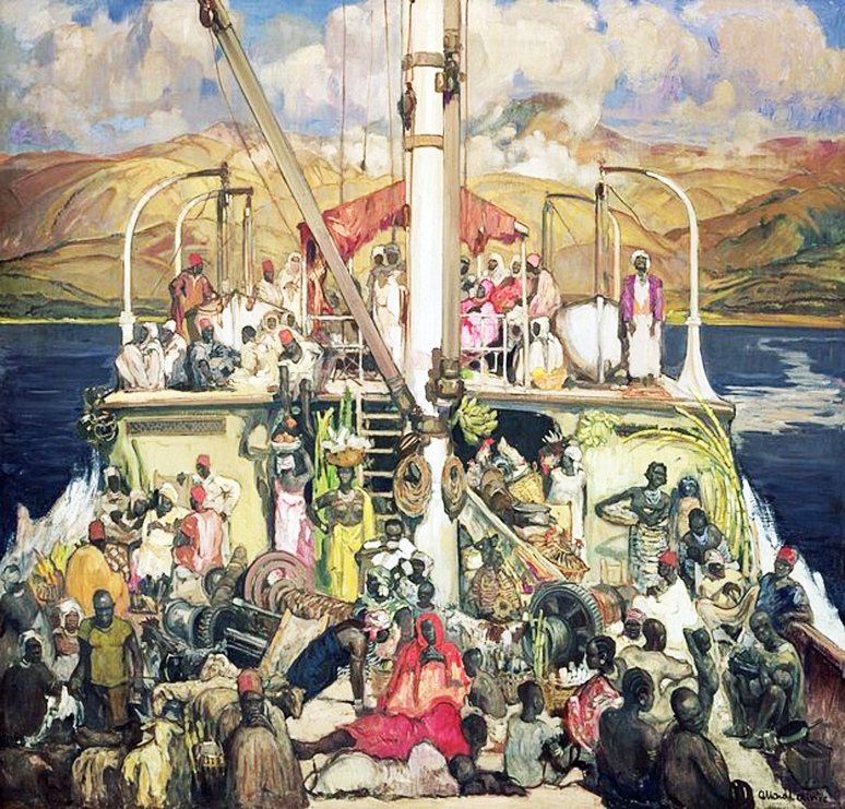 Fernand Allard l'Olivier - Le Ferry