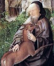Saint Giles en het hert