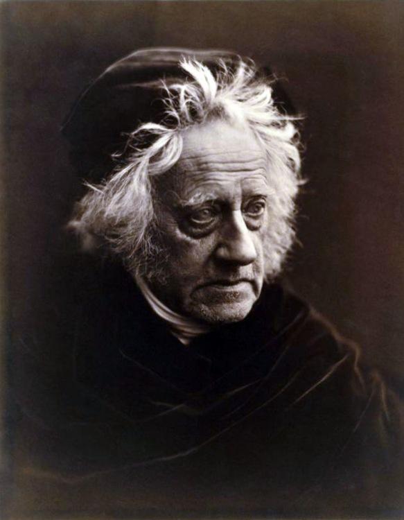 15 - De Engelse wetenschapper John Herschel-1867