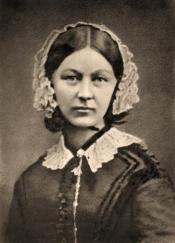 Florence Nightingale - 1858