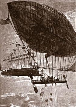 tekening Jules Verne 1