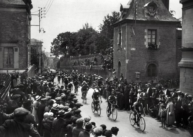 28 juli 1934 Doorkomst door Rennes