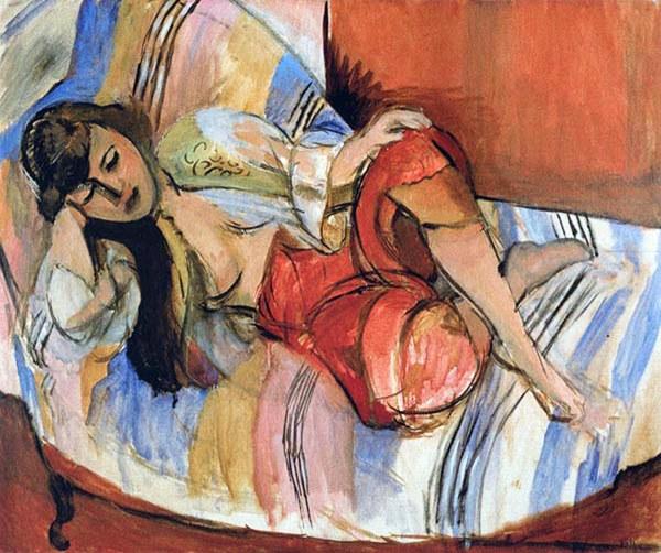009 - Henri Matisse Odalisque 1920-21