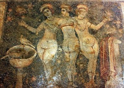 017 - De drie gratiën in het Narlikuyu Museum Mersin Turkije