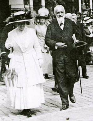 Wilhelmina en Cort van der Linden