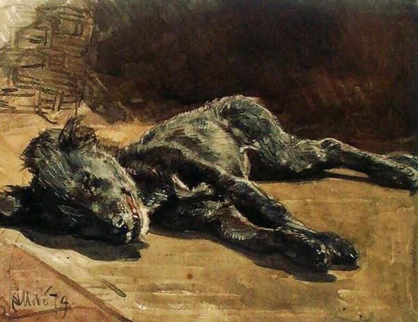 dode straathond 1879