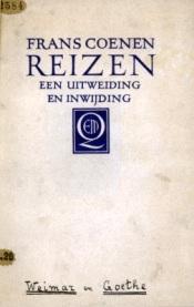 Frans Coenen - Reizen