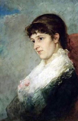 Thérèse Schwartze - A Portrait Of Lizzy Ansingh 1