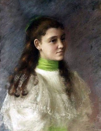 Thérèse Schwartze - A Portrait Of Lizzy Ansingh 2