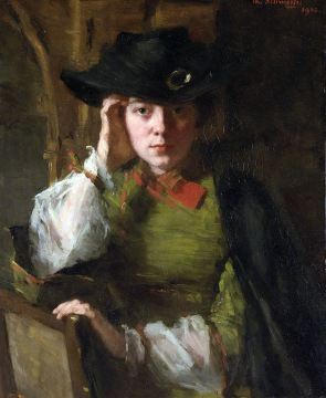 Thérèse Schwartze - A Portrait Of Lizzy Ansingh 3