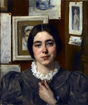 Thérèse Schwartze - A Portrait Of Lizzy Ansingh 4