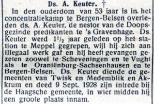 Advertentie Keuter
